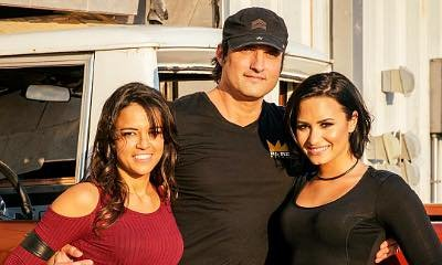 Demi Lovato Hires Michelle Rodriguez and Director Robert Rodriguez for 'Confident' Video