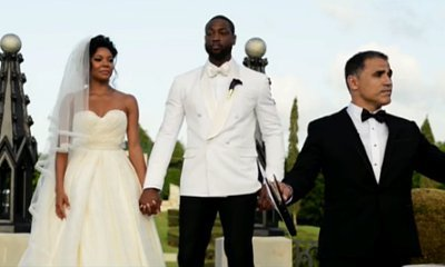 Gabrielle Union and Dwayne Wade's Wedding Captured as Movie Trailer