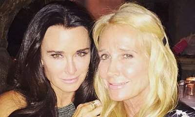 Kim Richards Reunites With Sister Kyle for Her 51st Birthday
