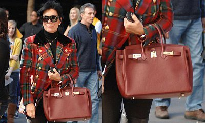 7f59c4aaaac Kris Jenner Auctions Her Hermes Birkin Bag due to Color