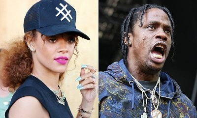 Rihanna and Travis Scott Spotted Hanging Out in Hollywood