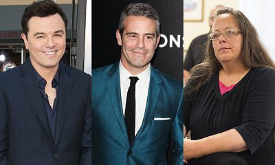 Seth MacFarlane, Andy Cohen and More React to Kim Davis' Arrest for Refusing Gay Marriage Licenses