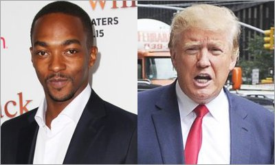 Anthony Mackie Slammed for Joking About Endorsing Donald Trump