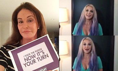 Caitlyn Jenner, Britney Spears and More Go Purple to Stand Up Against Bullying