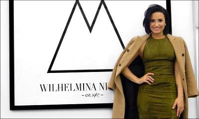 Demi Lovato Lands Modeling Contract With Wilhemina