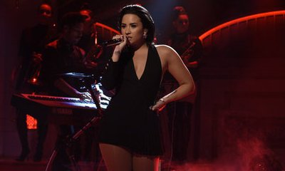 Video: Demi Lovato Performs on 'Saturday Night Live'