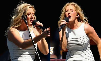 Ellie Goulding Denies Lip-Sync Accusations, Blames