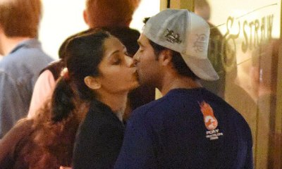 Freida Pinto Spotted Kissing Her New Man, Polo Pro Ronnie Bacardi