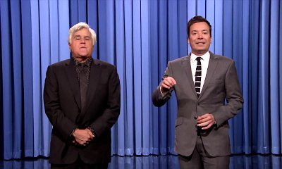 Video: Jay Leno Subs for Jimmy Fallon on 'Tonight Show' to Deliver Monologue