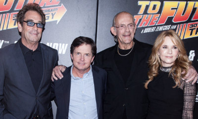 Michael J. Fox, Lea Thompson and Other Stars Reunite to Celebrate 'Back to the Future' Day