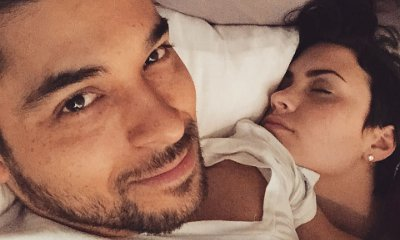 Wilmer Valderrama Shares Adorable Selfie With Sleeping Demi Lovato