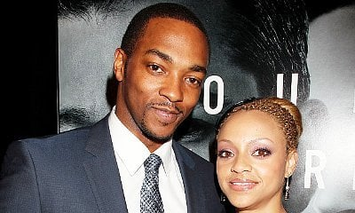 Surprise! Anthony Mackie Reveals His Wife Gave Birth to Their Third Child