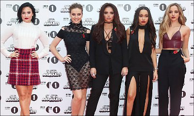 Demi Lovato and Little Mix Stun at BBC Radio 1 Teen Awards Red Carpet