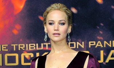 Jennifer Lawrence Bares Cleavage at 'Hunger Games: Mockingjay, Part 2' Berlin Premiere