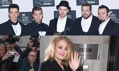 How Does NSYNC React to Adele Smashing Their Sales Record?