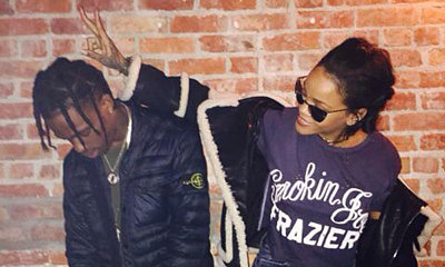 Together Again! Rihanna and Travis Scott Pack on  the PDA During The Weeknd Concert