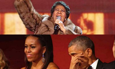 Aretha Franklin Brings President Obama to Tears by Performing 'A Natural Woman'