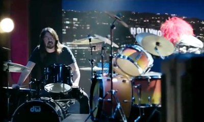 Watch Dave Grohl Trash Talk Animal in 'Muppets' Drum Battle