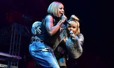 Watch Lil' Kim Join Mary J. Blige, P. Diddy at 'Hot for the Holidays' Concert