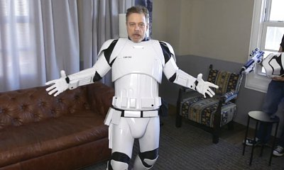 Mark Hamill Goes Incognito as Stormtrooper for 'Star Wars' Charity