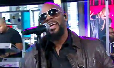 R. Kelly Throws 'Backyard Party' on 'Good Morning America'