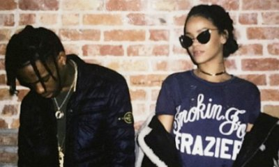 Rihanna's Boyfriend Travis Scott May Be the Reason Behind Delay of Her New Album 'Anti'