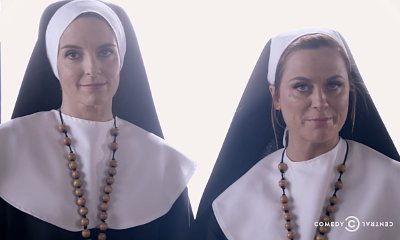 Tina Fey and Amy Poehler Play Nuns in 'Broad City' and 'Sisters' Crossover Promo