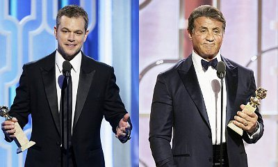 Golden Globes 2016: Matt Damon, Sylvester Stallone Are Best Actor and Best Supporting Actor in Movie
