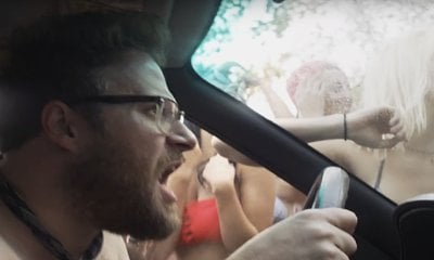 Seth Rogen Chased by Hot Girls in First Footage of 'Neighbors 2'