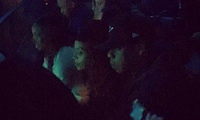 Beyonce and Jay-Z Attend The Dream's Concert in West Hollywood