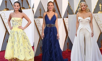 Oscars 2016: Alicia Vikander, Brie Larson, Lady GaGa Rule Red Carpet