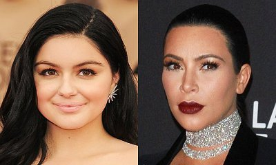 Ariel Winter Continues to Defend Kim Kardashian Against Her Nude Selfie's Haters