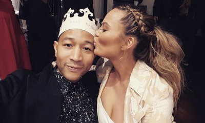 Chrissy Teigen Plays Queen at Baby Shower. See Pics of the Fun Party