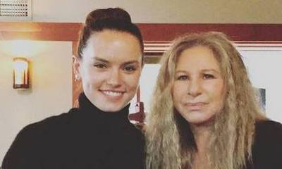 'Star Wars' Star Daisy Ridley Recording Song With Barbra Streisand?