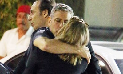 George Clooney Caught Kissing and Hugging Blonde Woman. Should Amal Be Jealous?