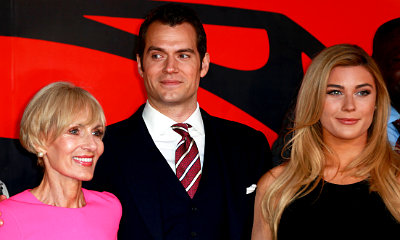 Henry Cavill Poses With 19-Year-Old Girlfriend at 'Batman v Superman' London Premiere