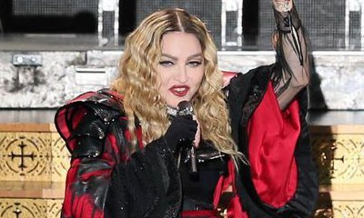 Madonna Accidentally Exposes a Fan's Breast in Front of the Crowd During Concert