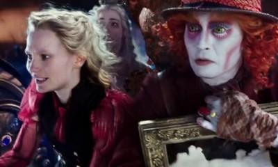 Watch Alice's Adventure With Mad Hatter in New 'Through the Looking Glass' Trailer