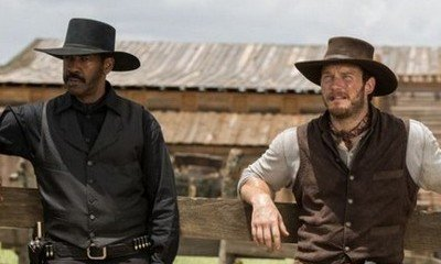 Check Out Denzel Washington and Chris Pratt in New Images From 'Magnificent Seven'