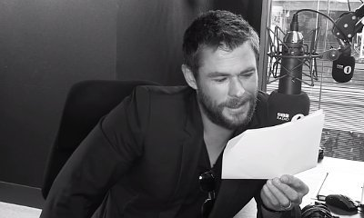 Watch Chris Hemsworth Give Rihanna's 'Work' a Very Dramatic Reading