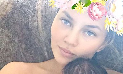 Chrissy Teigen's Daughter Luna Makes Her Snapchat Debut. See the Adorable Pic!