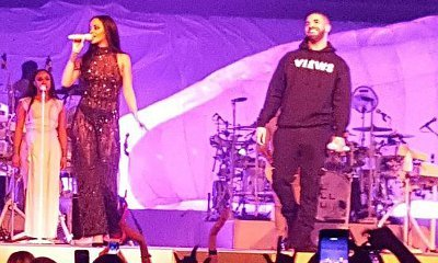 Drake Makes Surprise Appearance Onstage at Rihanna's Toronto Show