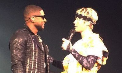 Justin Bieber Joined by Usher and Akon at Second Atlanta Show
