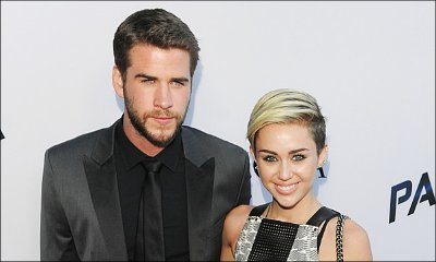 Liam Hemsworth Seen Leaving Miley Cyrus' House After Confirming They're Not Engaged