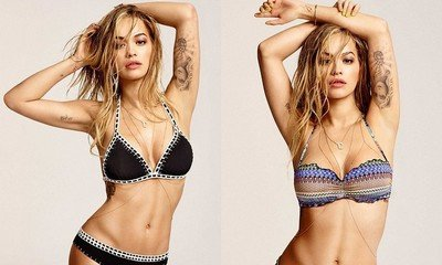 Becky Who? Rita Ora Flaunts Hot Bikini Body for New Tezenis Campaign Amidst Beyonce Drama