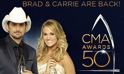 Carrie Underwood and Brad Paisley Returning to Host 2016 CMA Awards