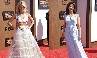 Carrie Underwood and Martina McBride Look Fabulous at American Country Countdown Awards