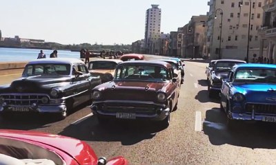 'Fast and Furious 8' Set Video Shows Vintage Cars Used for Filming in Cuba