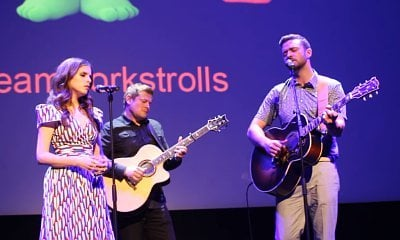 Justin Timberlake and Anna Kendrick Cover 'True Colors' at 'Trolls' Cannes Premiere