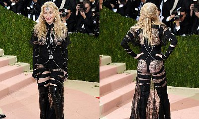 Madonna Bares Her Booty and Breasts at Met Gala